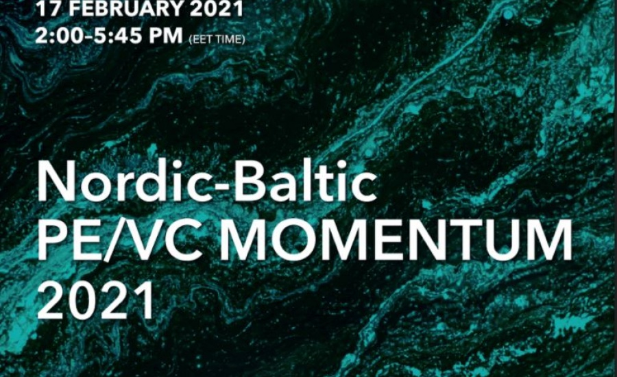 Nordic-Baltic PE/VC MOMENTUM 2021 conference