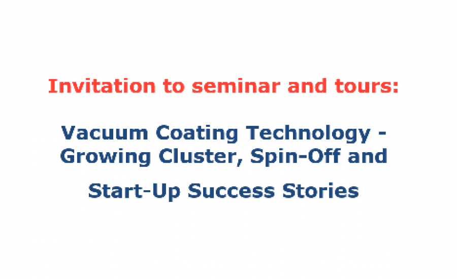 Vacuum Technologies Seminar before Baltic VC summit 2018