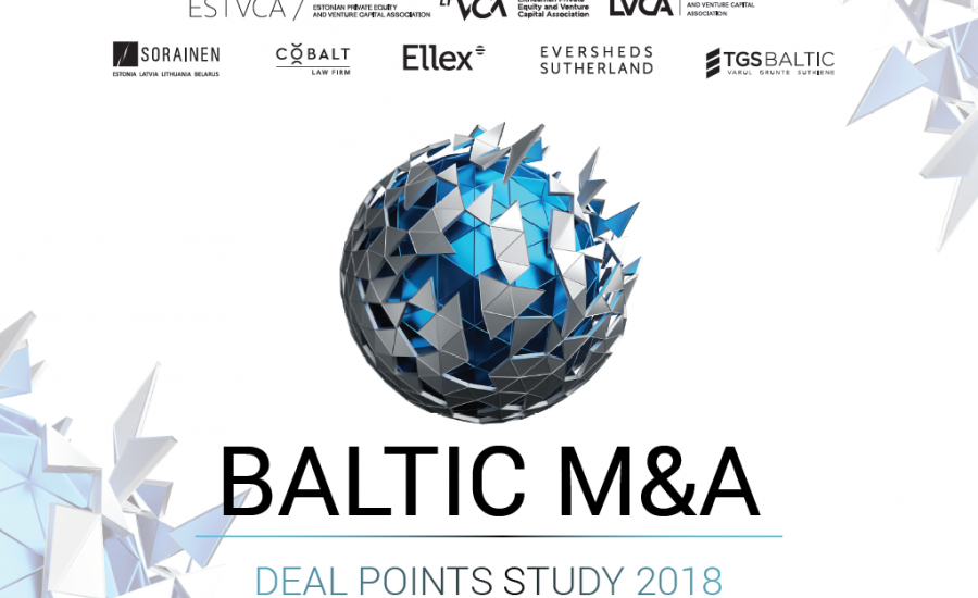 """Baltic M&A Deal Points Study 2018"" released"