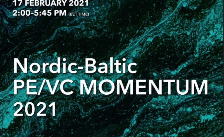 Nordic-Baltic PE/VC MOMENTUM 2021 conference