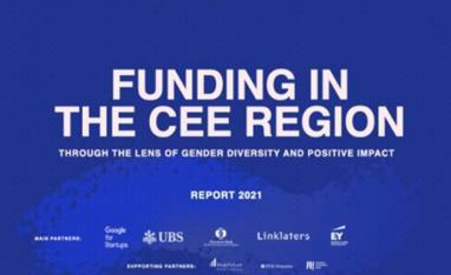 FUNDING  IN THE  CEE REGION  THROUGH THE LENS OF GENDER DIVERSITY AND POSITIVE IMPACT