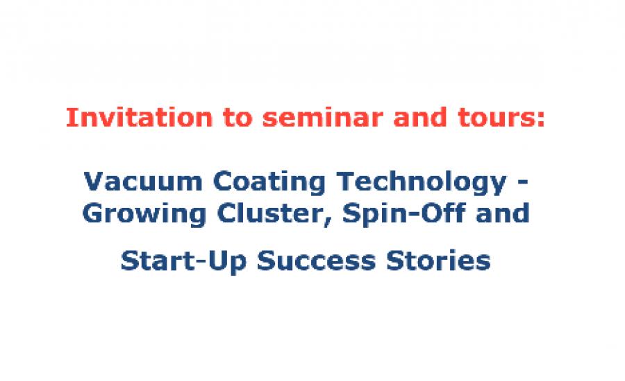 Vacuum Technologies Seminar before Baltic VC summit 2018